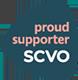 Proud supporter of SCVO